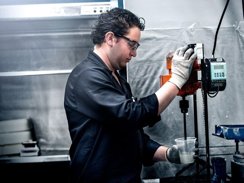 Producción de poliuretano
